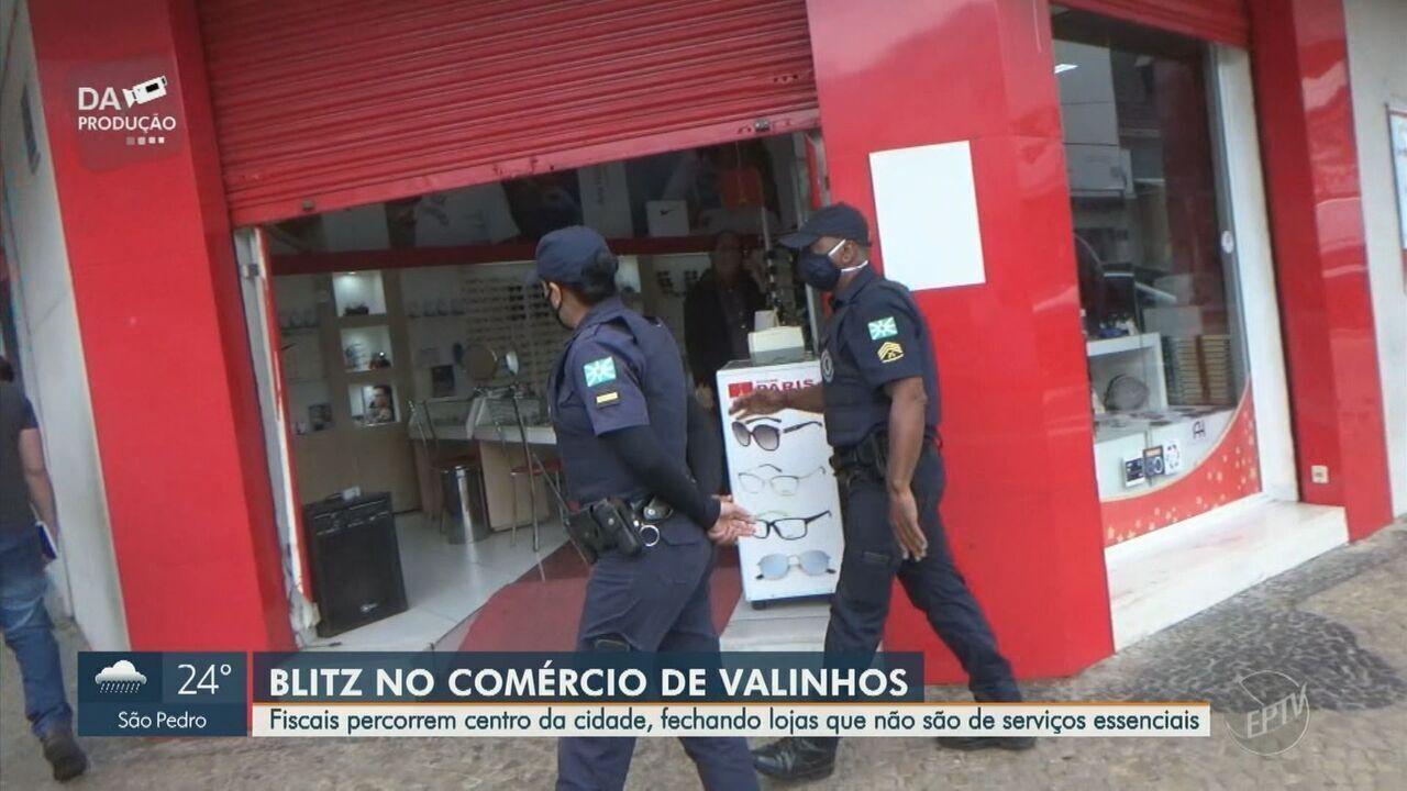 Valinhos tem lojas sem autorização abertas e abuso no preço de álcool em gel