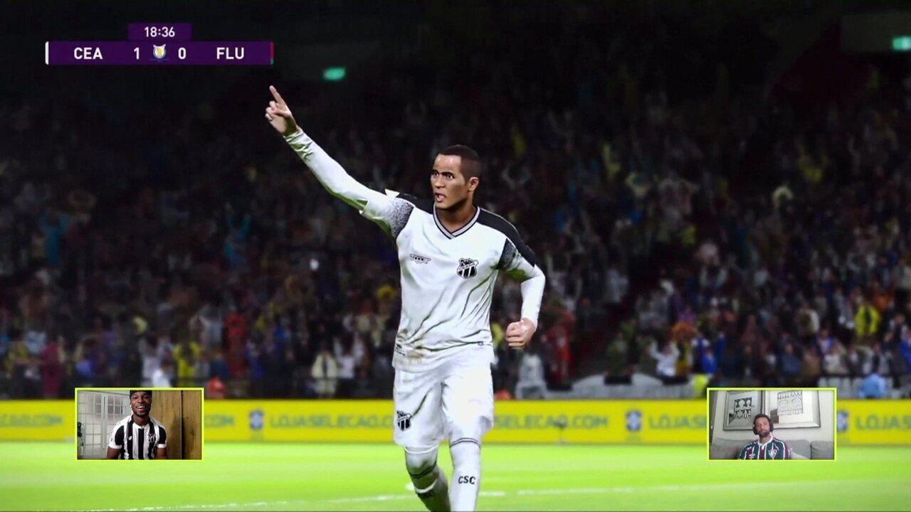 Melhores momentos: Ceará (Luiz Otavio) 2 x 0 (Nenê) Fluminense pelo Futebol de Casa