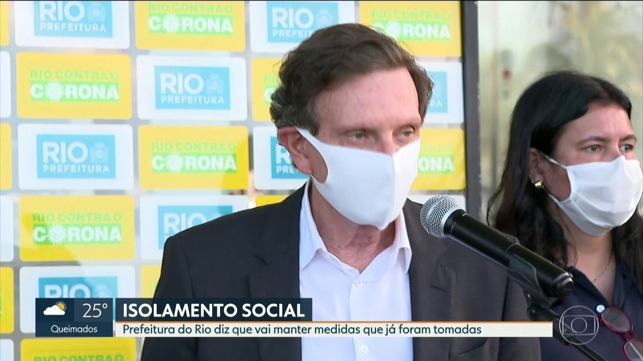 Marcelo Crivella diz que vai manter ações de isolamento social no Rio