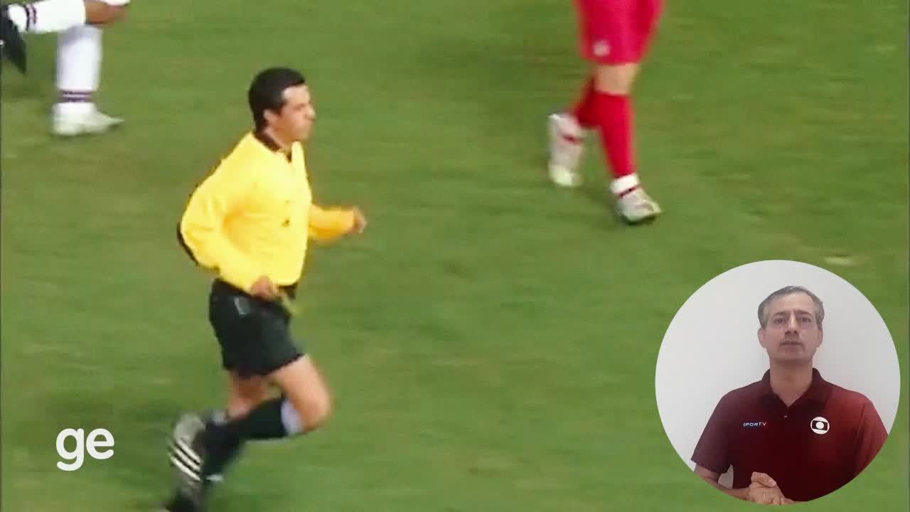 Sálvio Spínola analisa lances polêmicos de arbitragem de São Paulo x Liverpool, de 2005