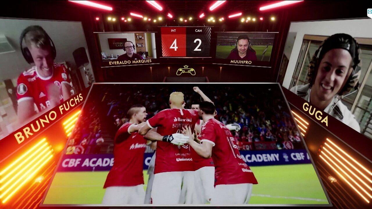 Melhores momentos: Internacional/Bruno Fuchs 0 (4) x (2) 0 Guga/Atlético-MG pelo Controle de Ouro