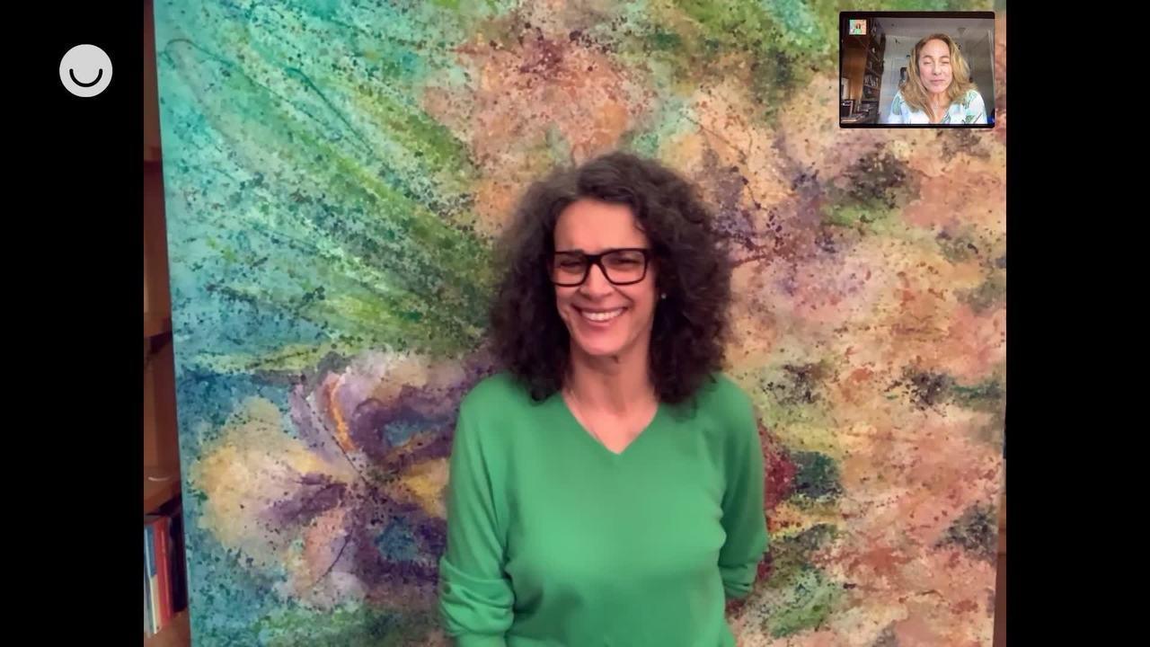 Cissa Guimarães entrevista Simone
