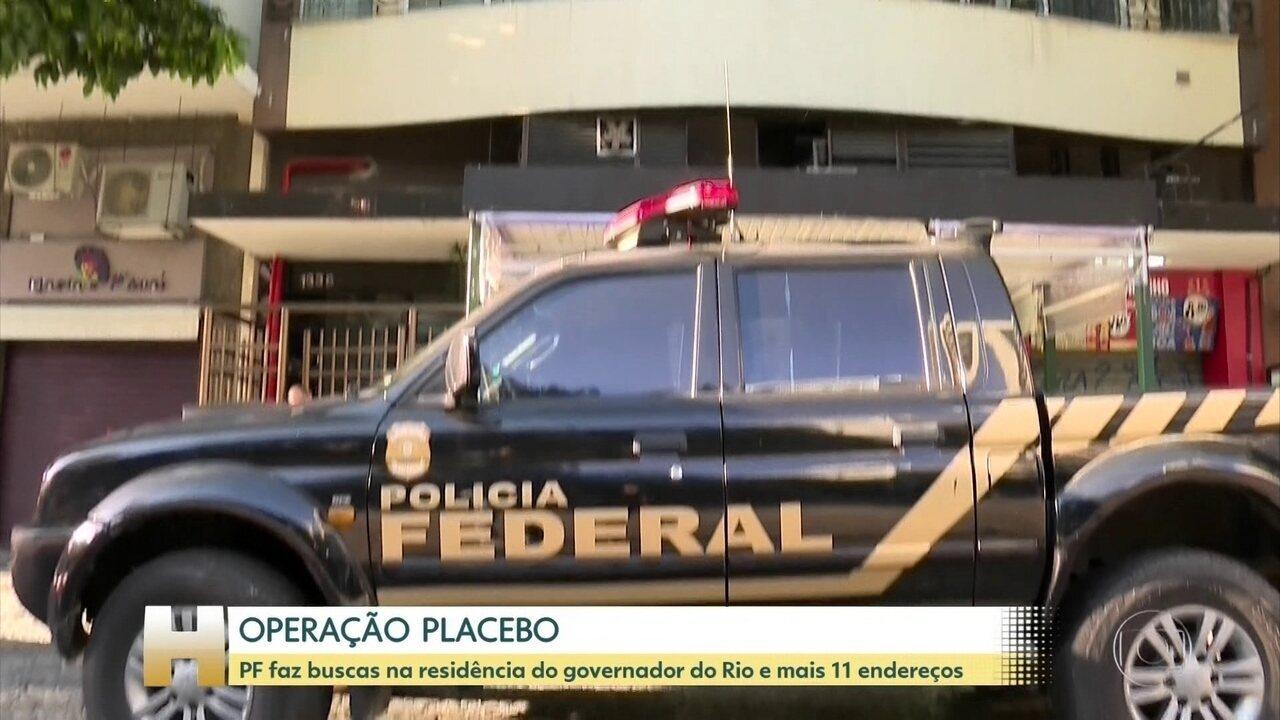 PF faz buscas contra governador do RJ em investigação sobre hospitais de campanhas