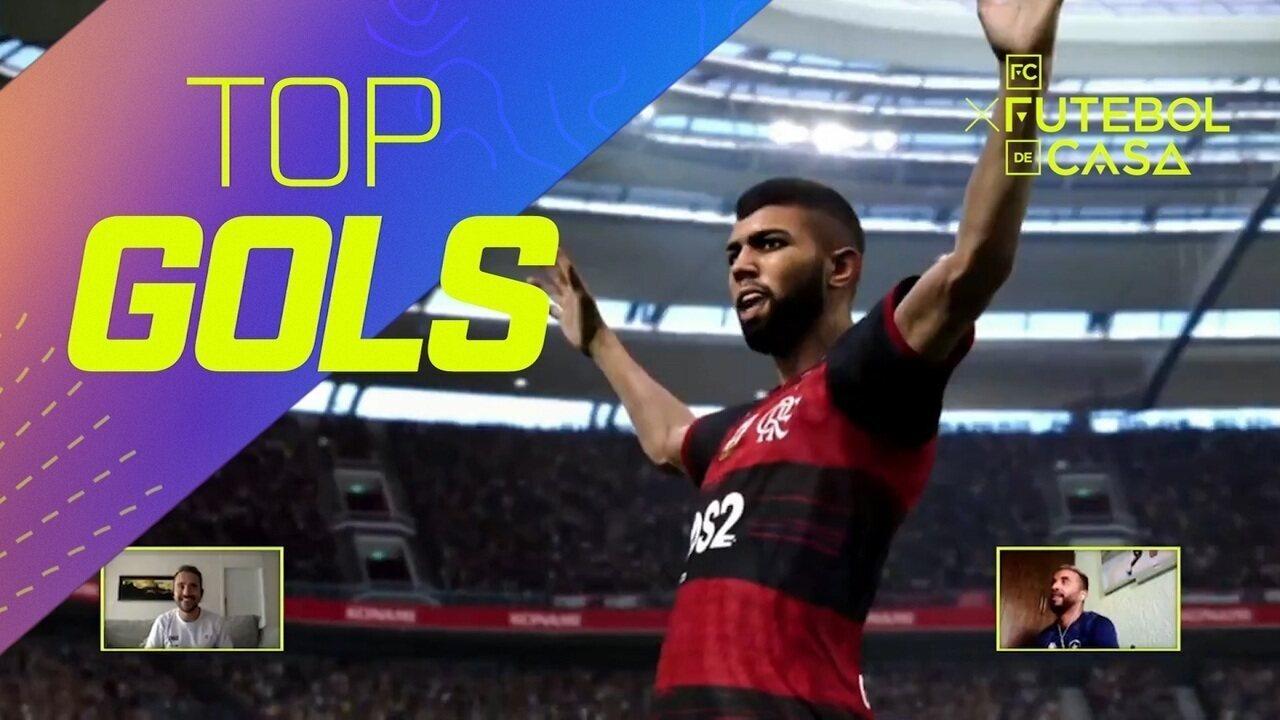 Top 3: veja os gols mais bonitos do oitavo dia do Futebol de Casa