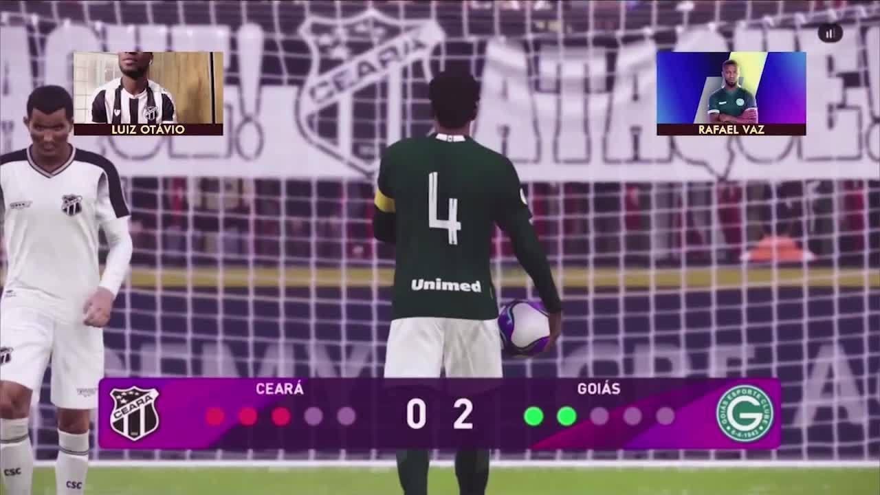 Melhores momentos: Goiás/Rafael Vaz 0 (3) x (0) 0 Luiz Otávio/Ceará pelo Futebol de Casa