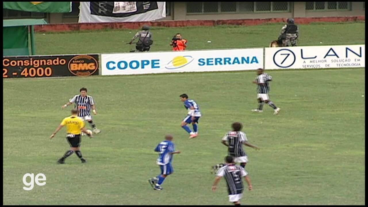 Os lances de Rio Branco-ES 1 x 0 Vitória-ES, pelo Campeonato Capixaba 2010