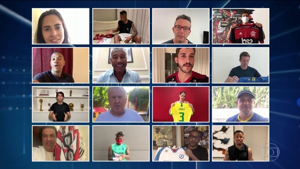 Federação Paulista de Futebol reúne ídolos para leilão virtual