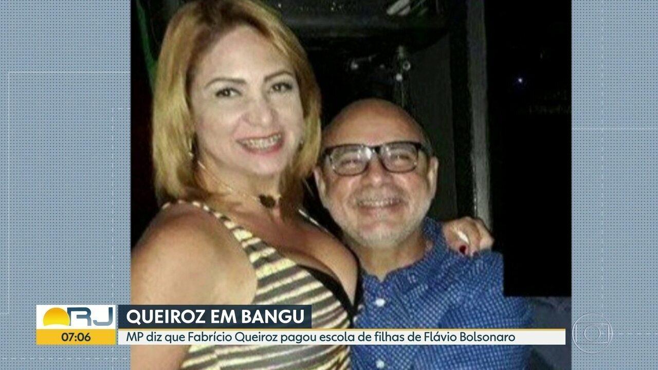 Investigação aponta que Fabrício Queiroz pagou escola das filhas de Flavio Bolsonaro