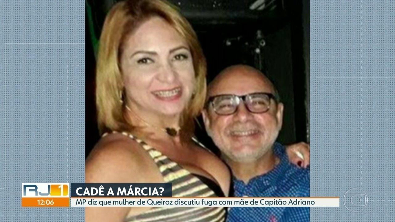 MP segue procurando Márcia Aguiar, mulher de Fabrício Queiroz