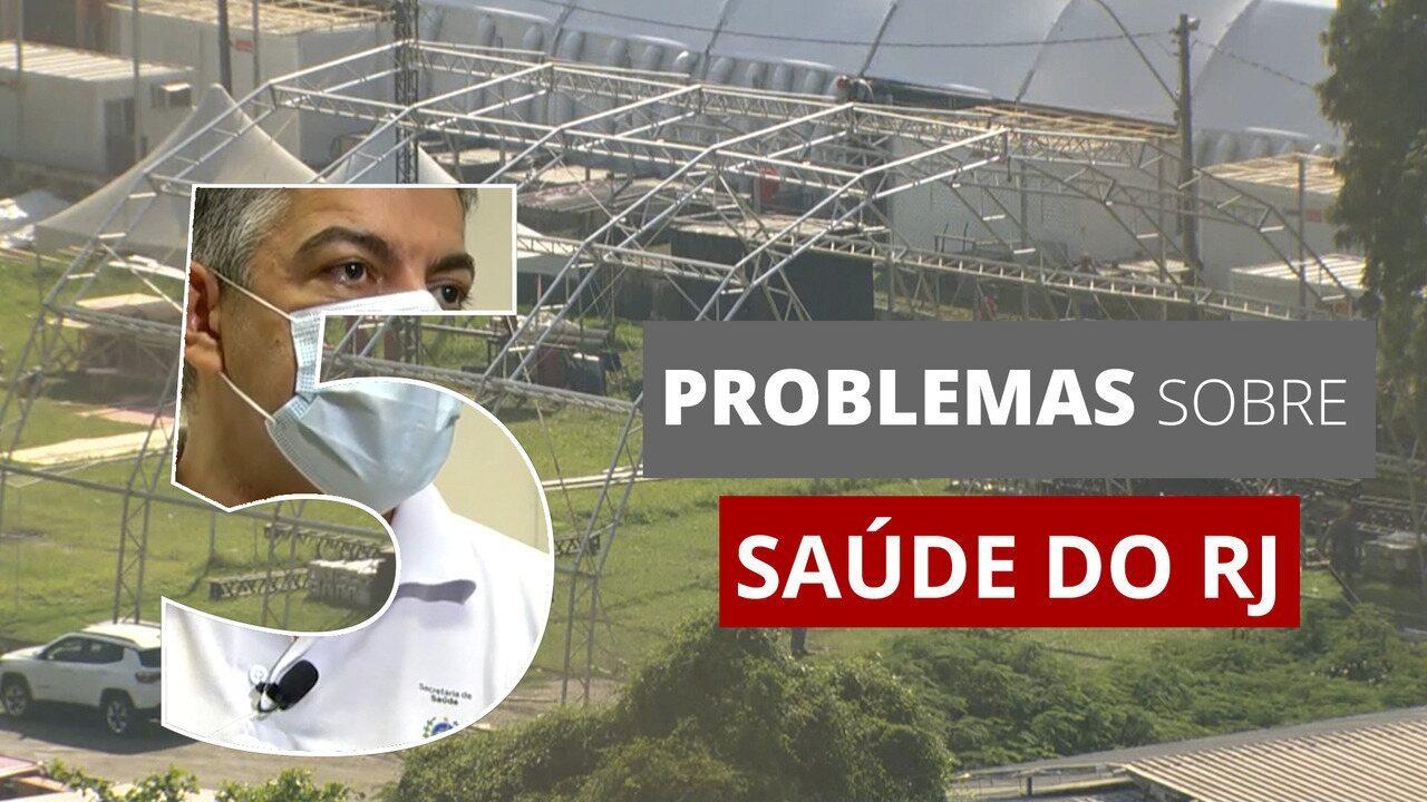 Secretário Fernando Ferry pede exoneração: veja 5 problemas da Saúde no RJ