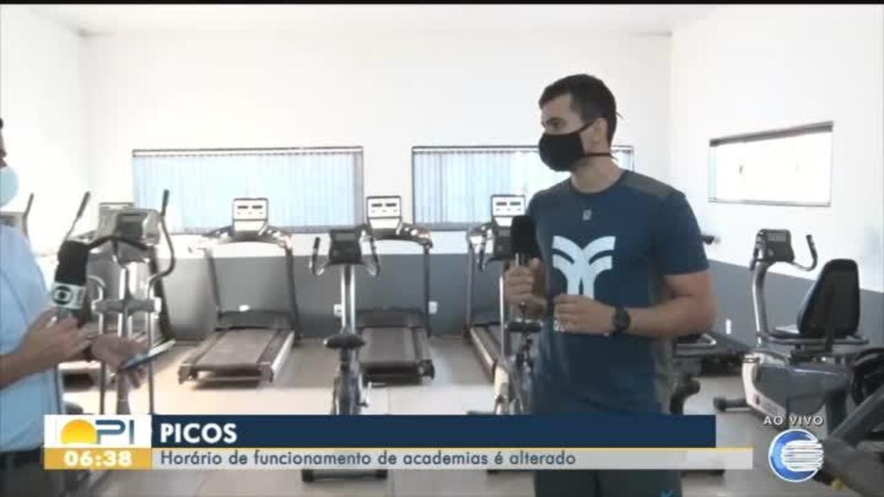 Academias de Picos se adaptam a novas regras para funcionamento