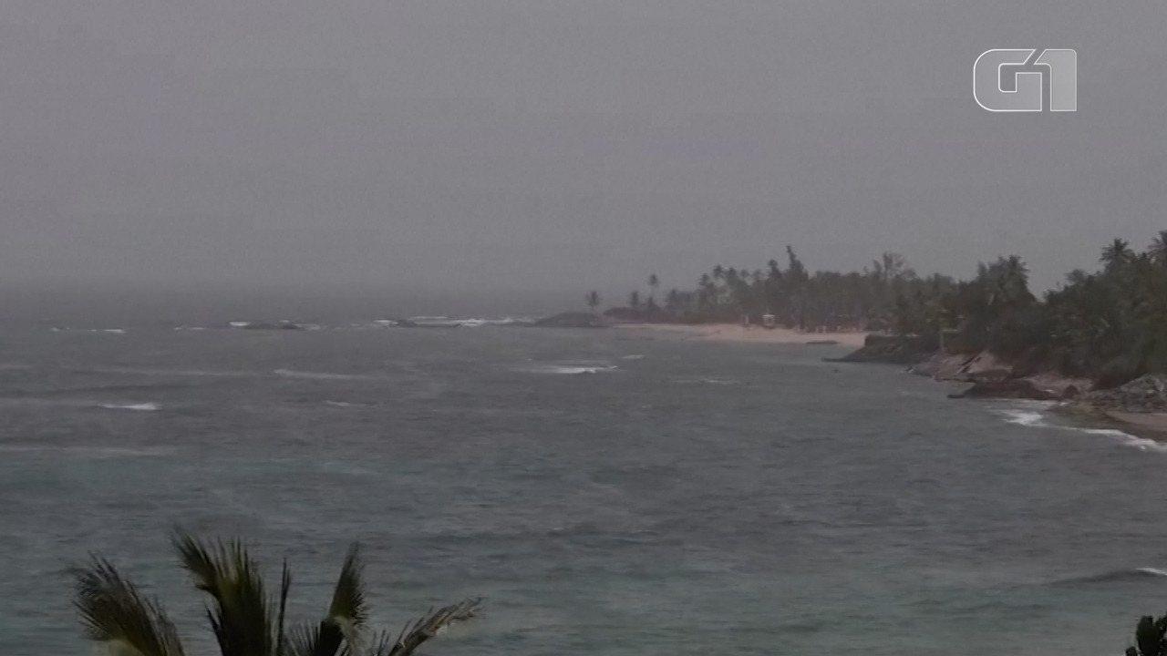 Nuvem de areia do Saara chega ao Caribe