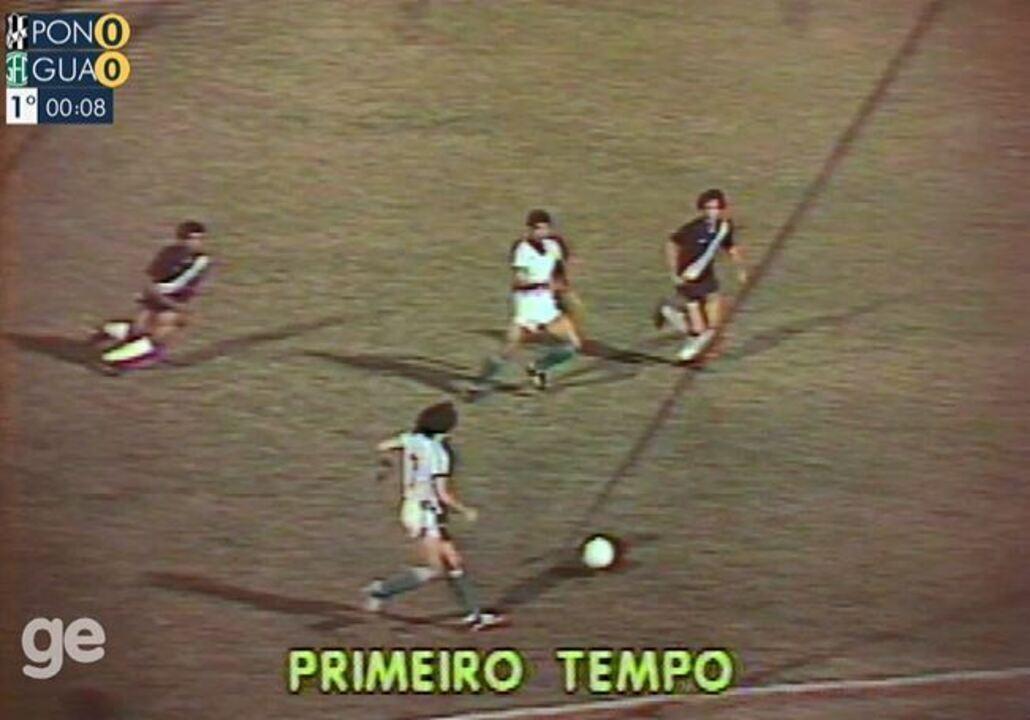 Ponte Preta x Guarani: 1º tempo na íntegra do Paulistão de 1981