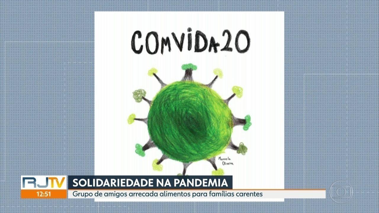 Desenho De Menina Do Rio Da Inicio A Corrente Do Bem Na Pandemia Rio De Janeiro G1