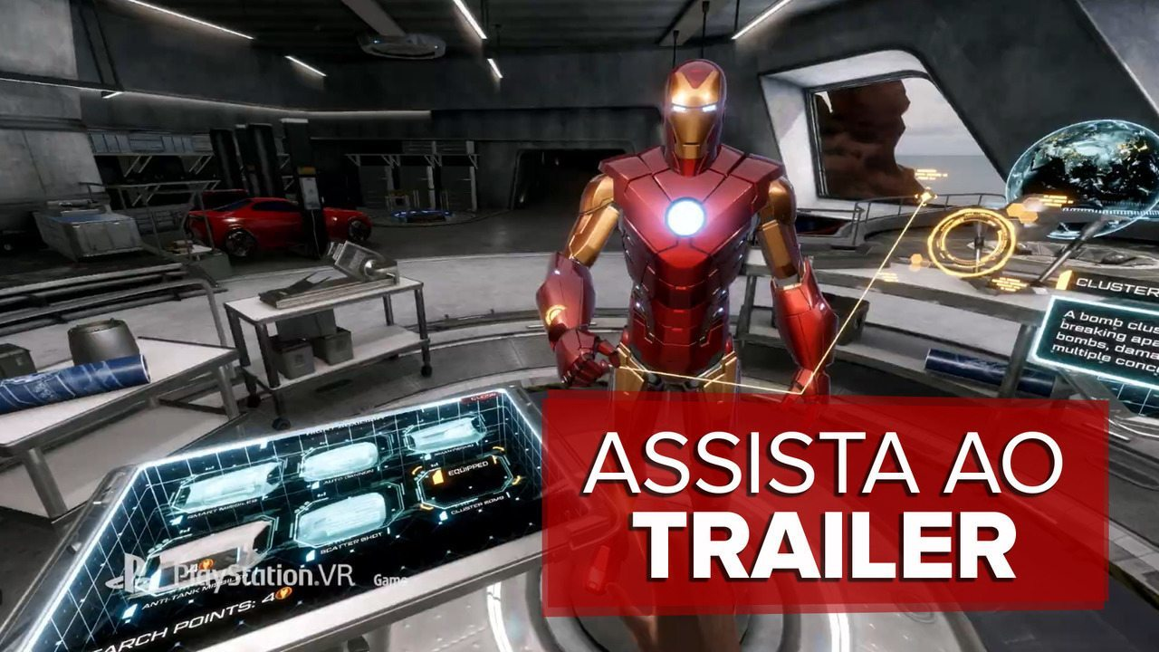 Assista ao trailer de 'Iron Man VR