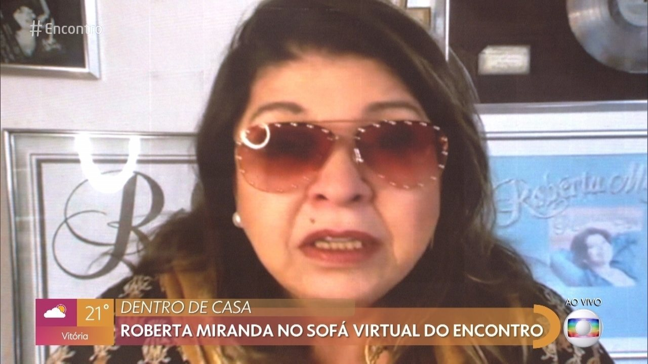 Roberta Miranda conta que foi muito impactada pela pandemia