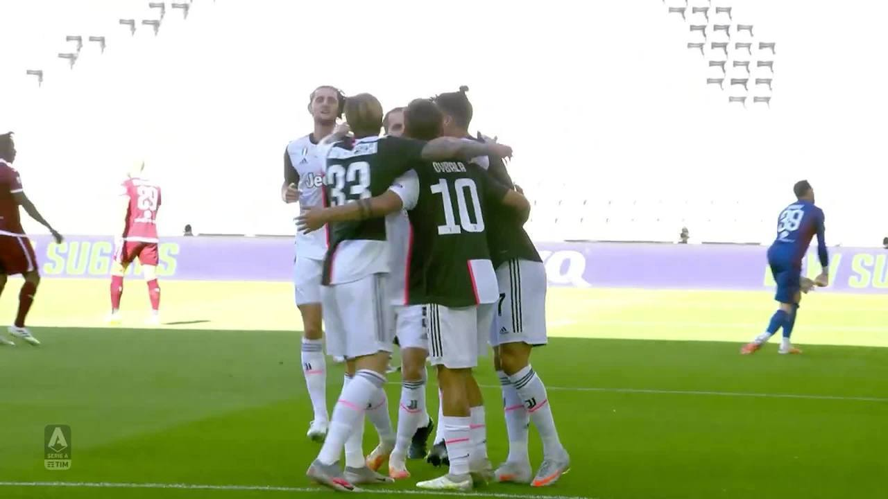 Os gols de Juventus 4 x 1 Torino pelo Campeonato Italiano