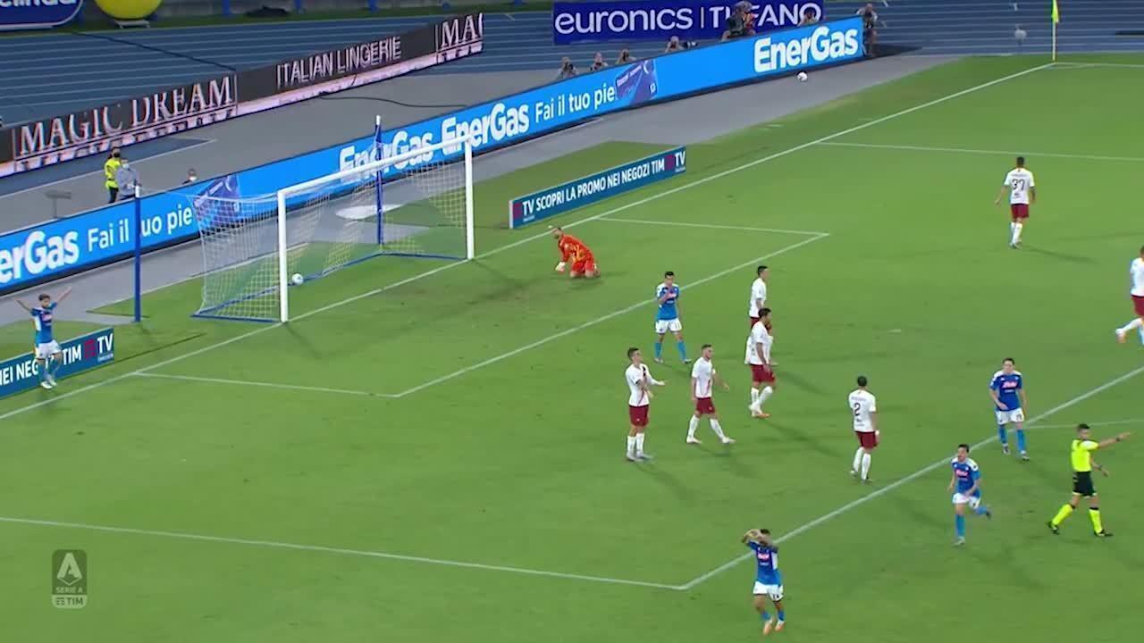 Melhores momentos: Napoli 2 x 1 Roma pelo Campeonato Italiano