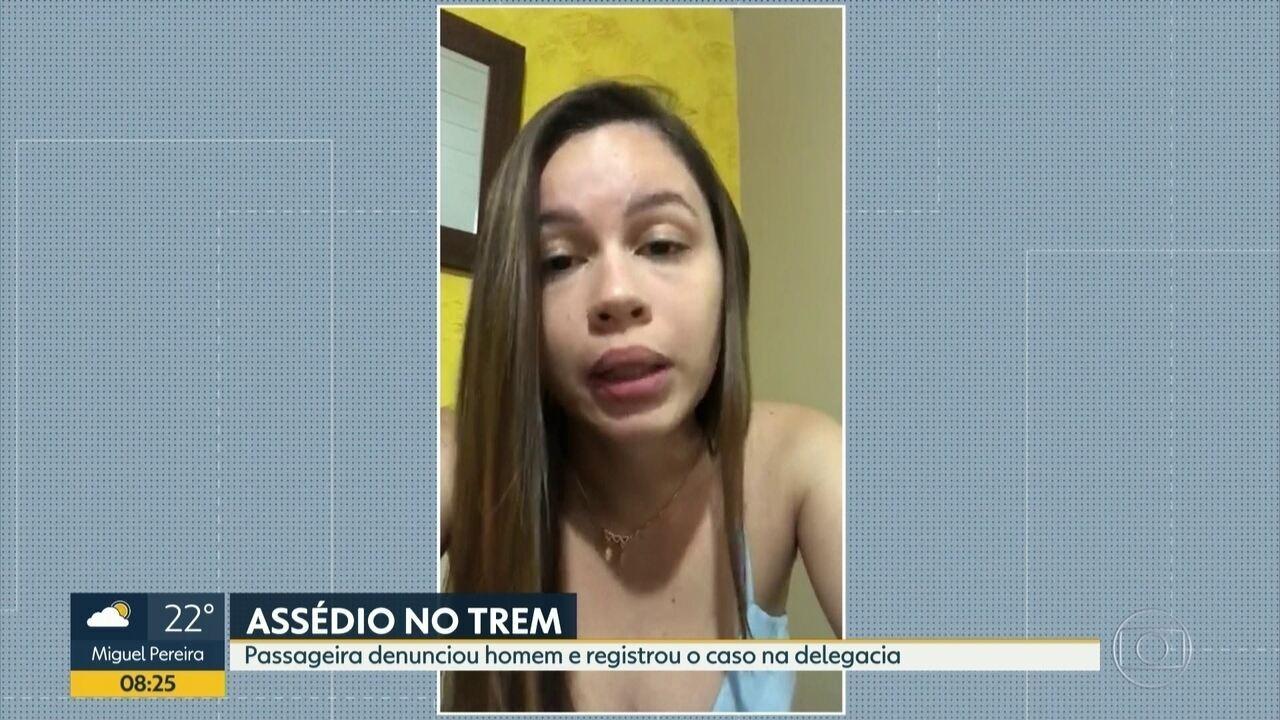 Mulher denuncia assédio dentro do trem e registra o caso na delegacia