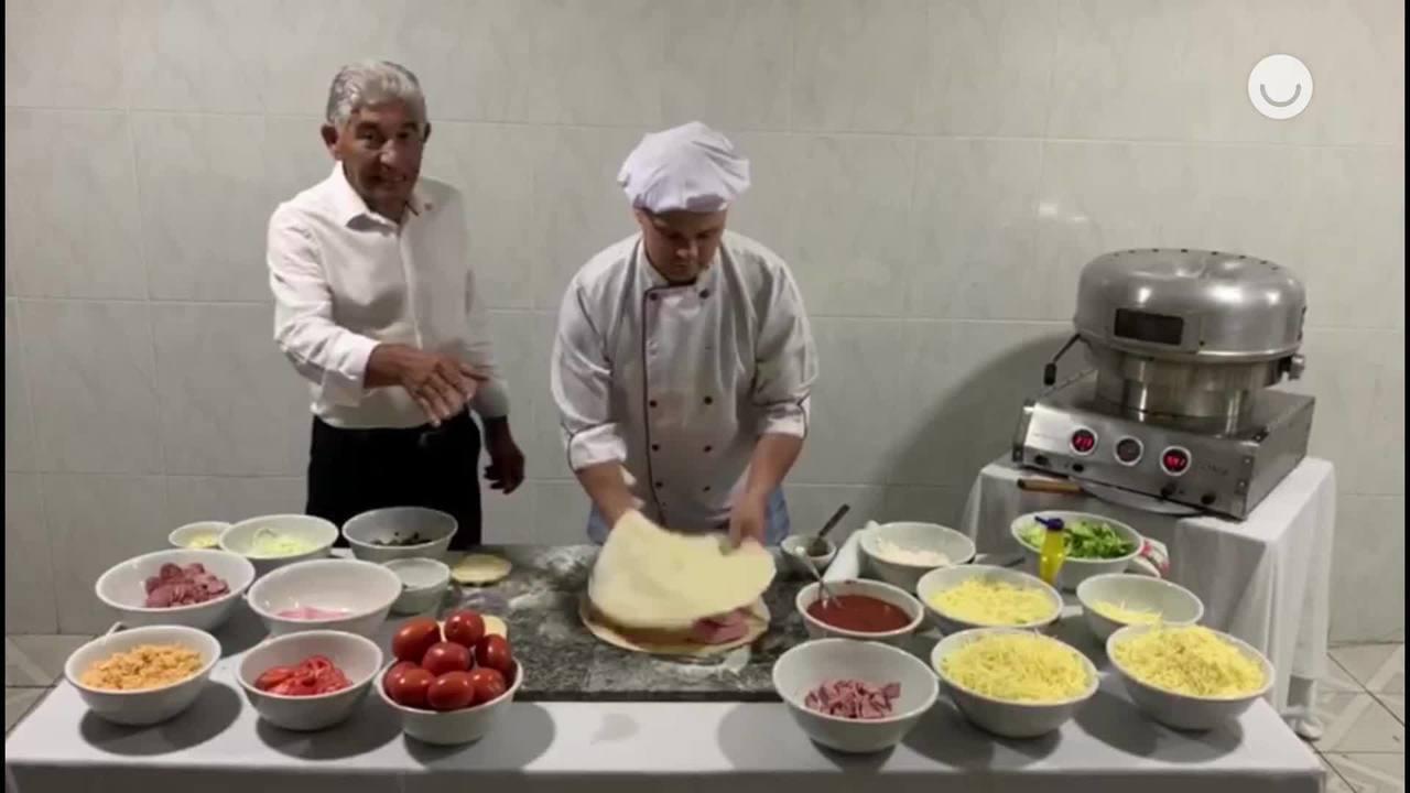 Aprenda a fazer a pizza favorita do Faustão!