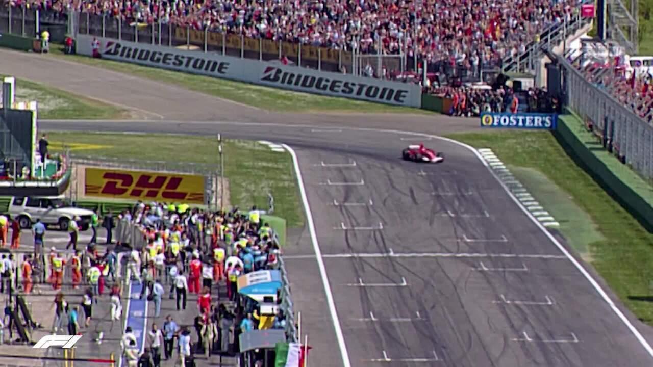 Imagens do Circuito Enzo e Dino Ferrari, em Imola, sede do GP da Emília-Romagna