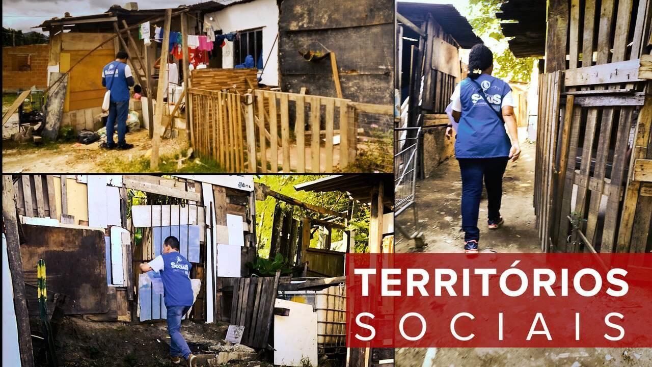 Projeto identifica 25 mil famílias em alto grau de vulnerabilidade social