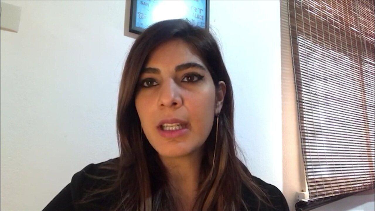 Namorada são-paulina, Andreia Sadi dá bronca em Rizek após eliminação do São Paulo