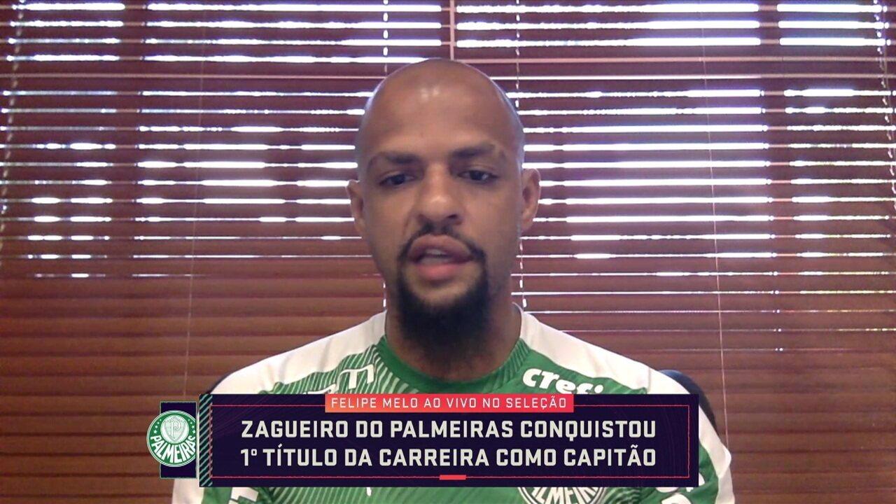 Assista à participação de Felipe Melo no Seleção SporTV