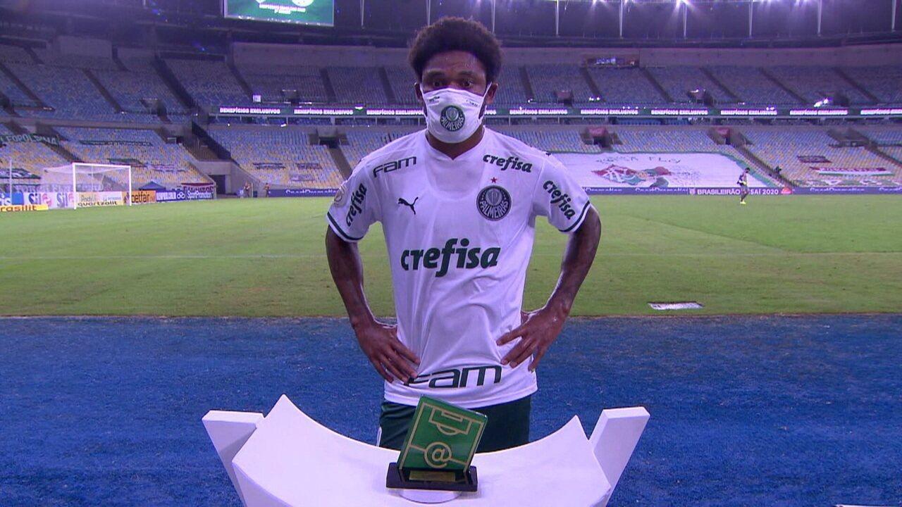 """Luiz Adriano fala sobre o empate do Palmeiras com o Fluminense: """"Faltou um pouco de concentração"""""""