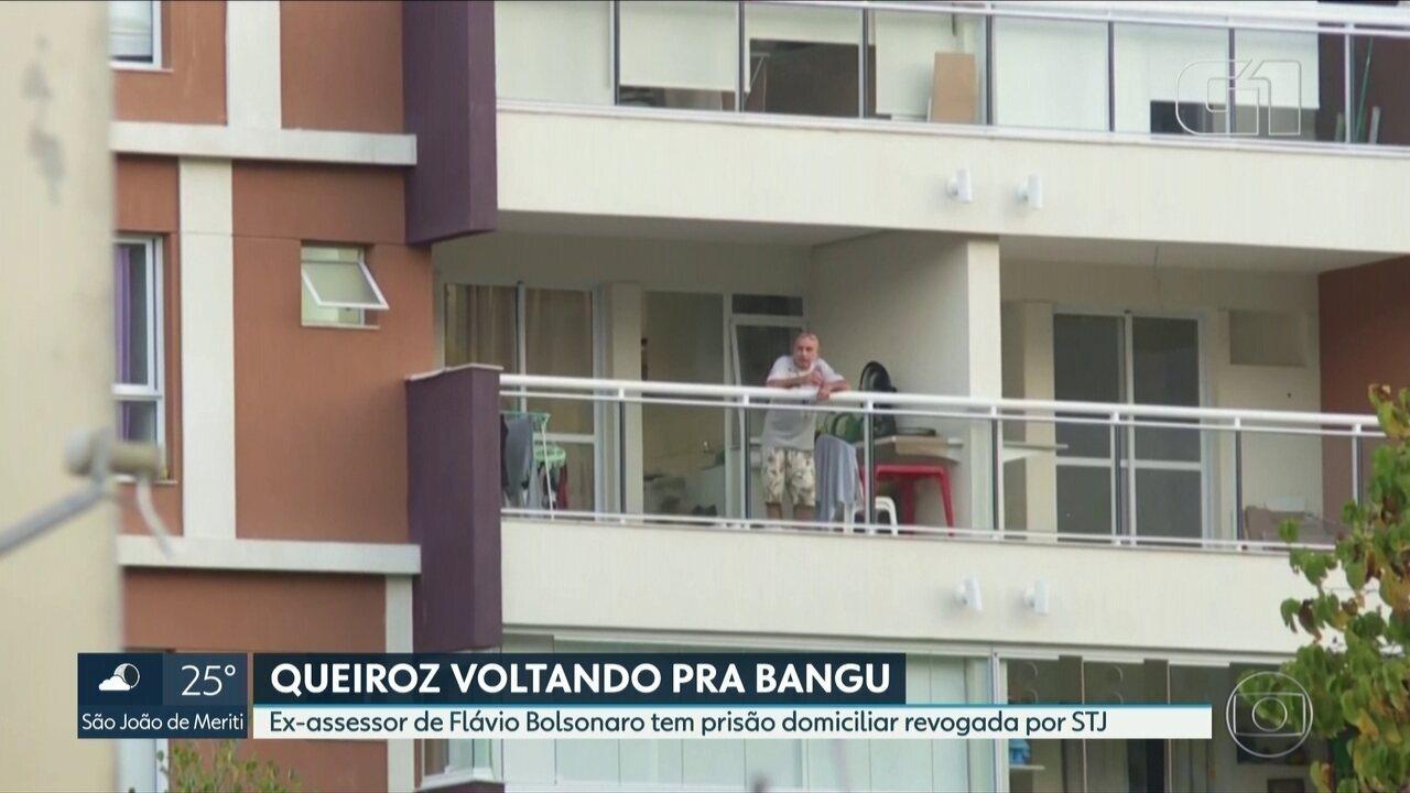 Tribunal de Justiça do RJ emite mandados de prisão contra Queiroz e a esposa Márcia Aguiar