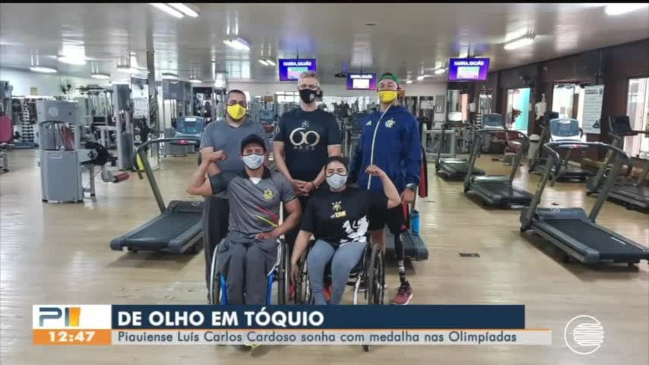 Piauiense acredita em medalha de ouro na olimpíadas de Tóquio