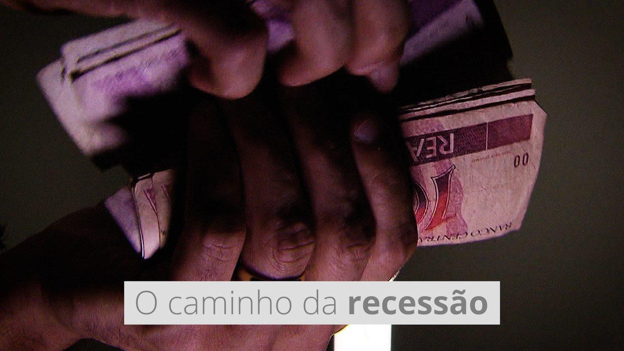 O caminho da recessão: como o Brasil chegou à queda histórica do PIB