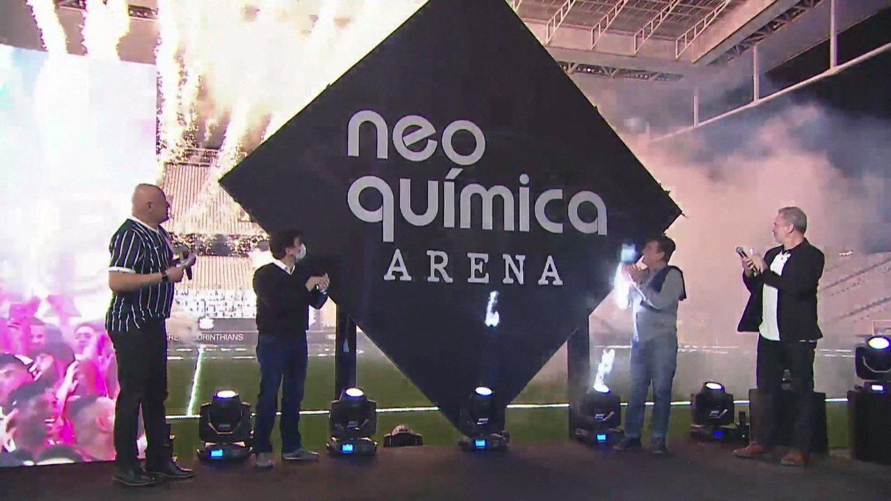 Confira o nome da parceira que vai deter os naming rights do estádio do Corinthians