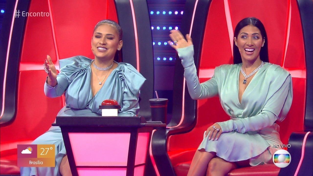 Simone & Simaria falam sobre a expectativa para o retorno do 'The Voice Kids'