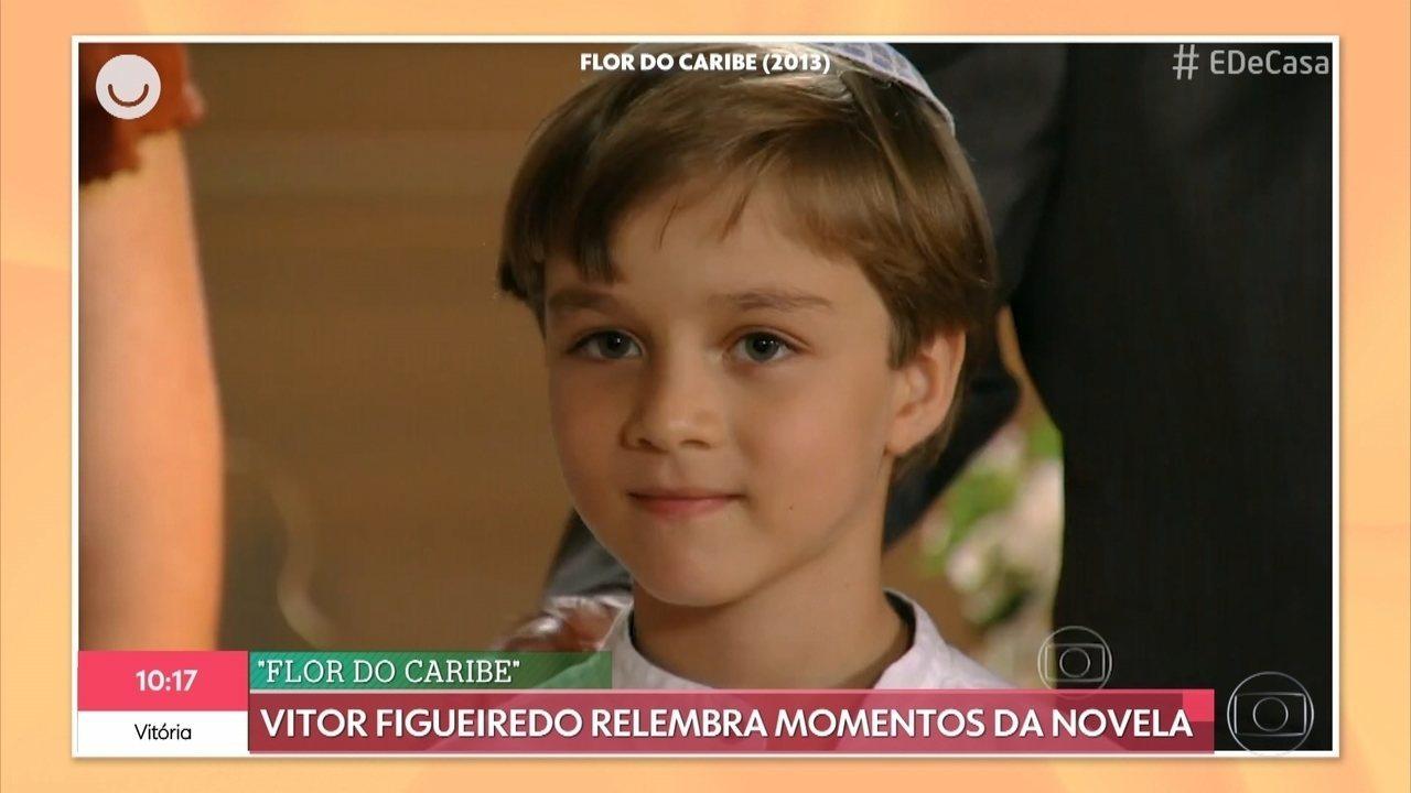 Veja por onde anda o ator Vitor Figueiredo, o Samuca de 'Flor do Caribe'