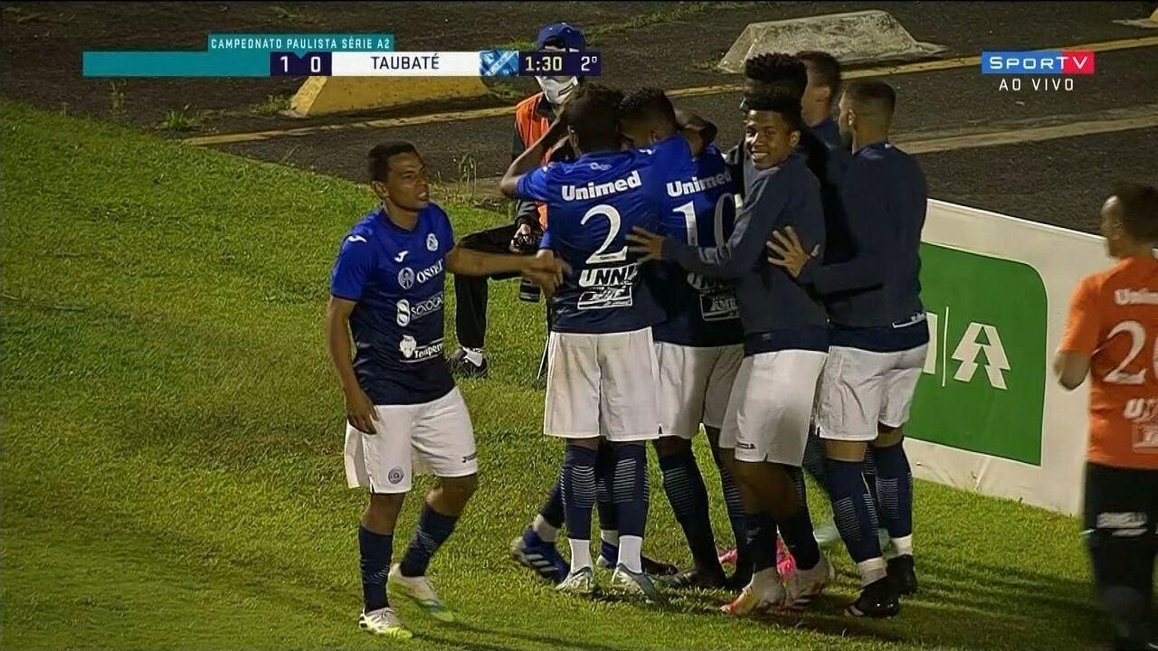 Veja os gols e as cobranças de pênalti de São Bento 1 (8) x (7) 1 Taubaté pela Série A2