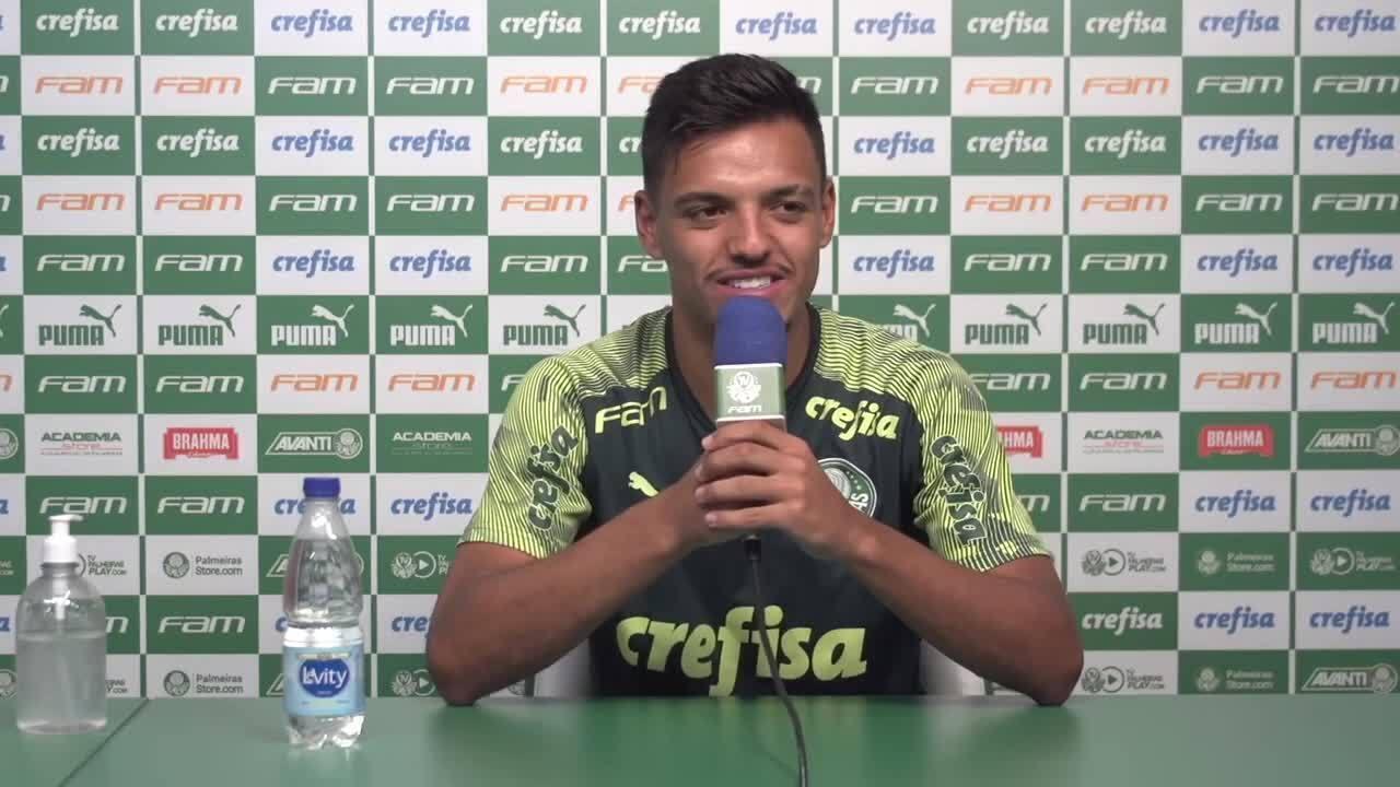 Gabriel Menino, do Palmeiras, fala sobre a convocação para a seleção brasileira