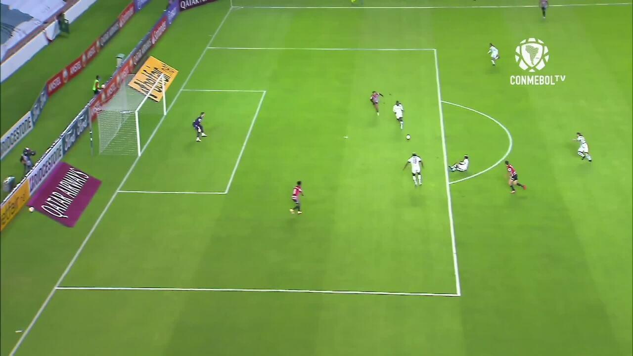 Veja os gols da derrota do São Paulo para a LDU no Equador