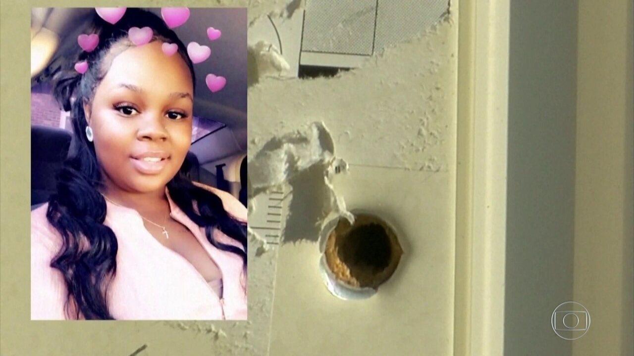 Justiça dos EUA acusa policial envolvido em operação que resultou na morte de jovem negra