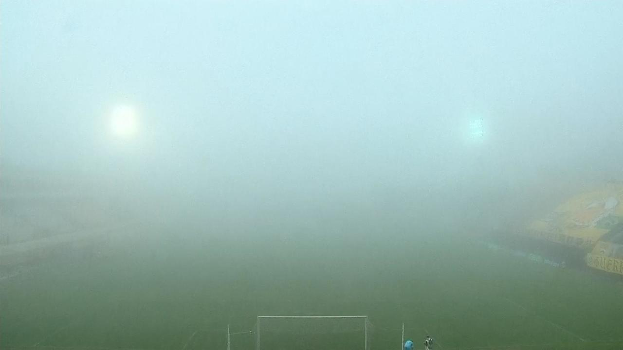 Neblina interrompe jogo que decide acesso à elite do Paulistão