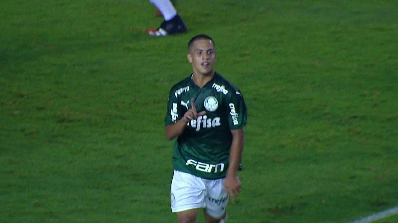 Confira gol de Vitinho pelo Palmeiras