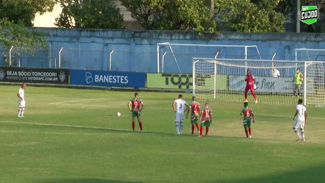Os gols de Vitória-ES 2 x 1 Operário VG, pela Série D do Campeonato Brasileiro 2020