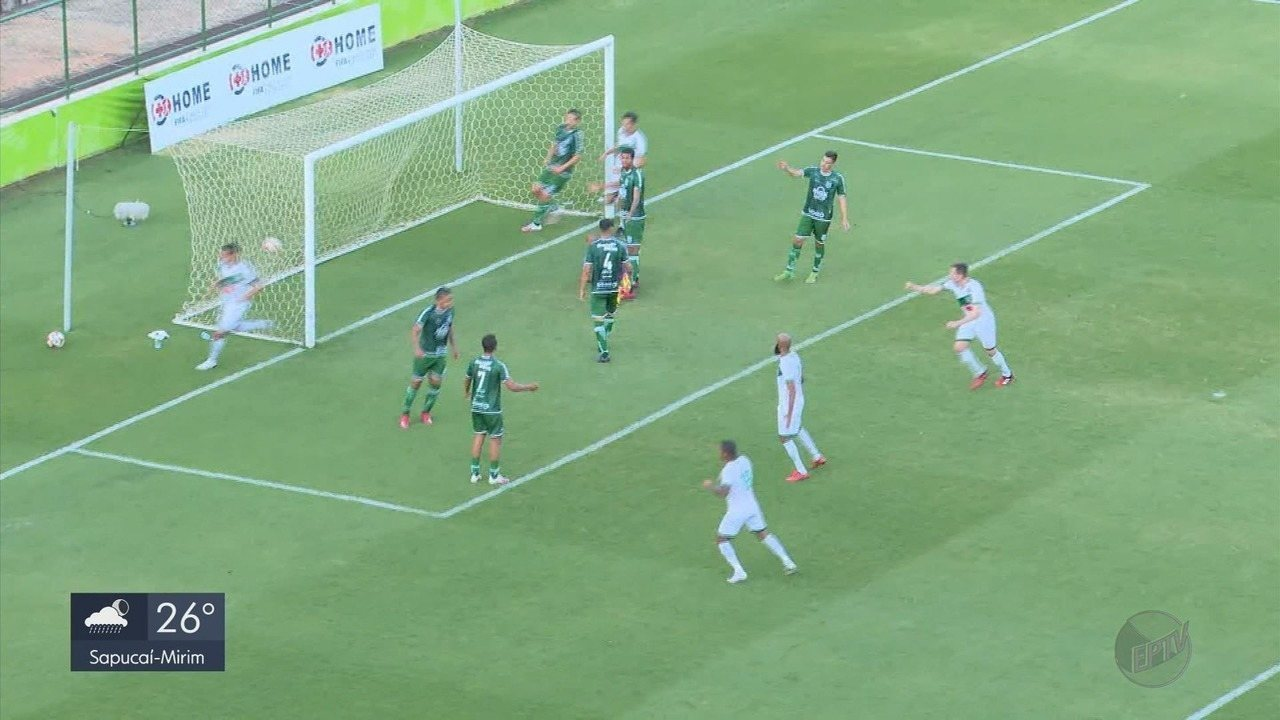 Caldense é goleada pelo Gama na Série D do Brasileiro