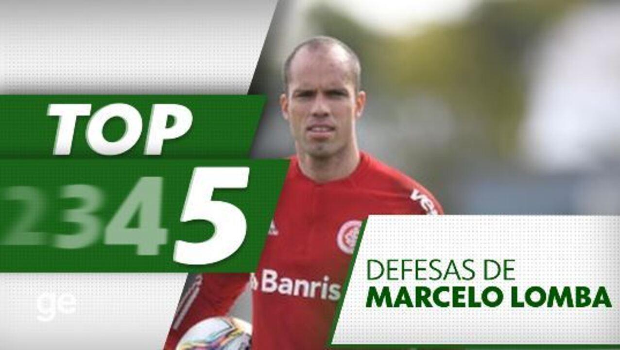Veja o top 5 defesas de Marcelo Lomba na carreira
