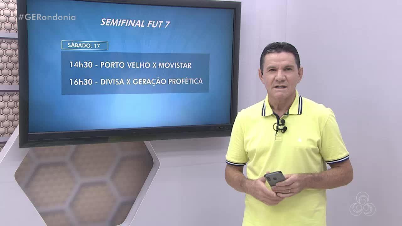 Veja os times que estão na final do Campeonato Municipal de Fut7 em Porto Velho