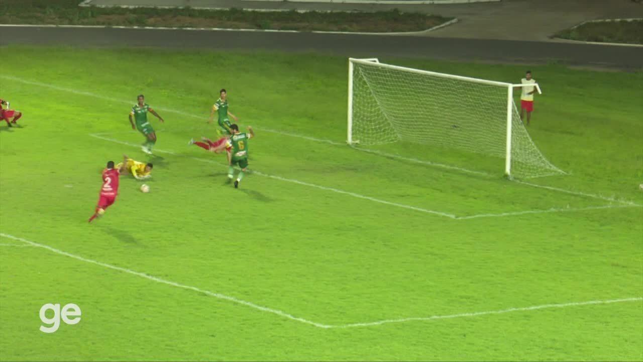 Os gols de Baré 2 x 1 Altos - Série D do Campeonato Brasileiro 2020