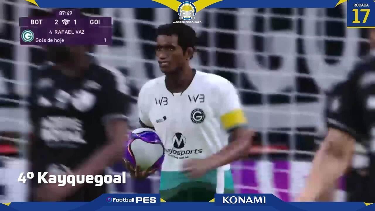 e-Brasileirão: Top 5 tem golaço de falta de Rafael Vaz e voleio de arboleda