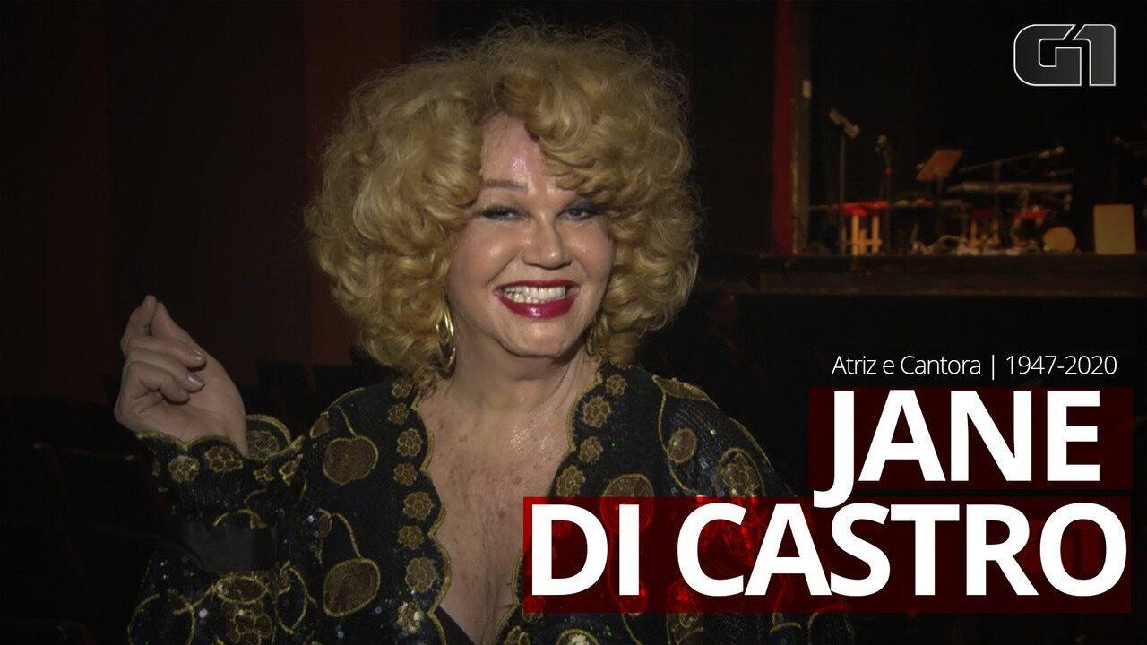Morre aos 73 anos a atriz e cantora Jane di Castro