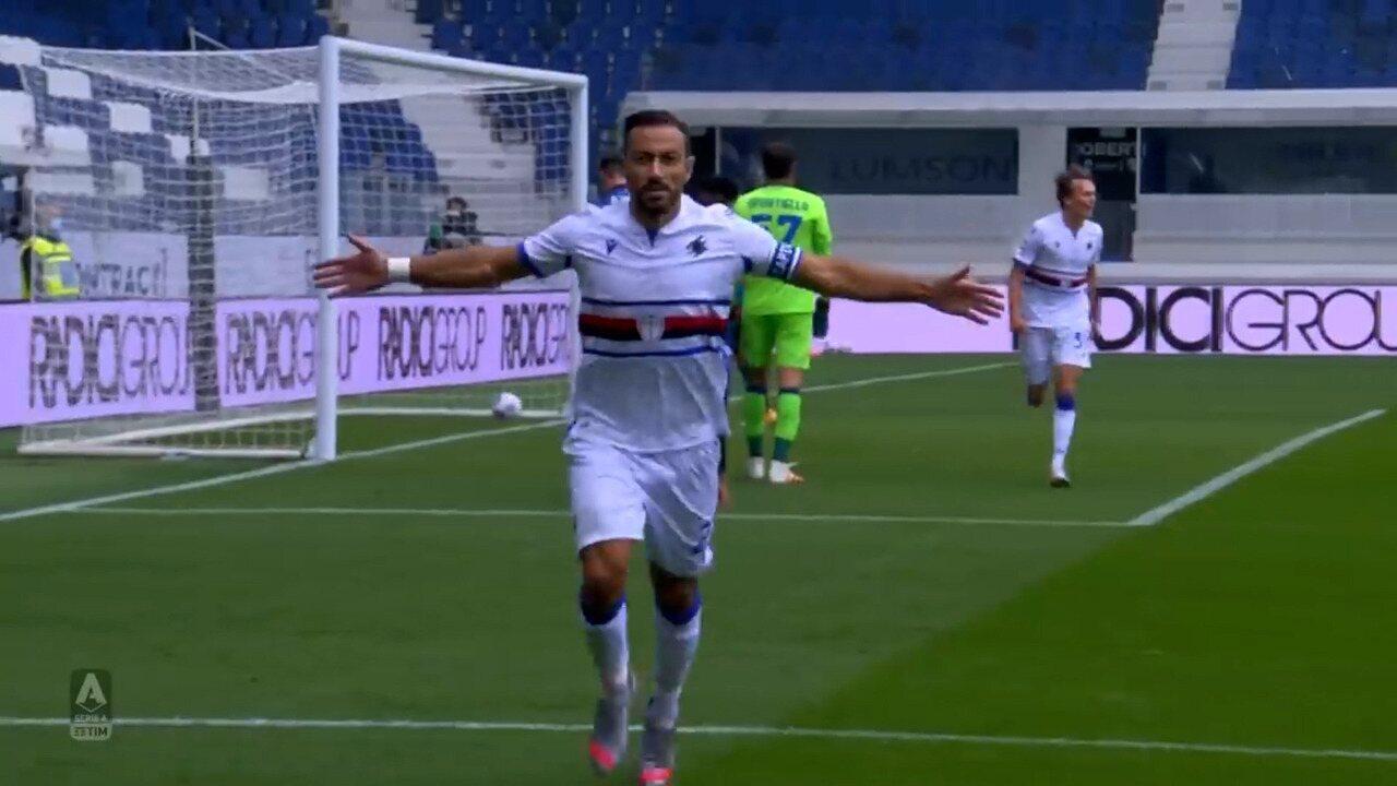Melhores momentos de Atalanta 1 x 3 Sampdoria pelo Campeonato Italiano