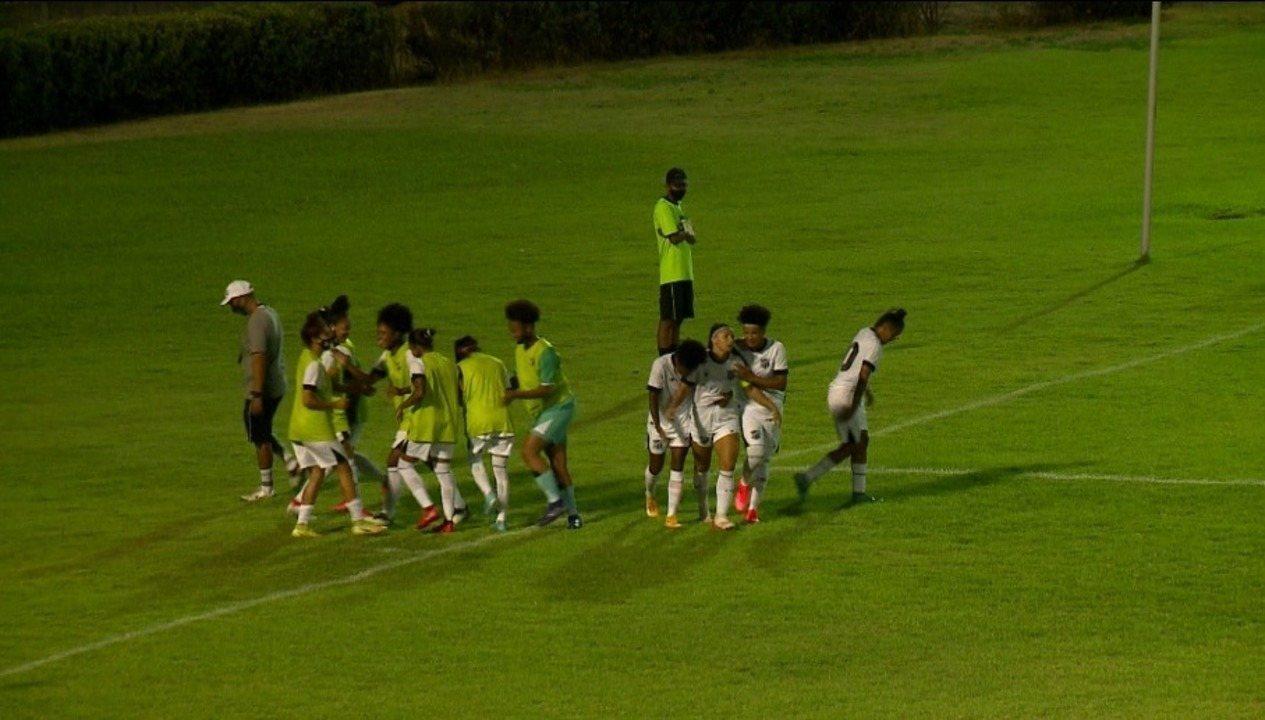 Os gols de Tiradentes-PI 1 x 3 Ceará pela rodada 2 da Série A2 do Brasileiro feminino